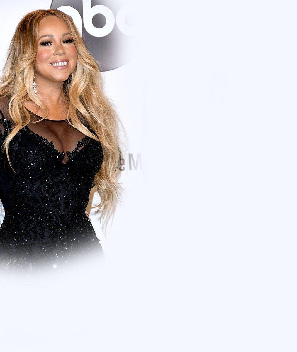 Mariah Carey nezklamala: Na ceremoniál přišla s pořádně napěchovaným dekoltem