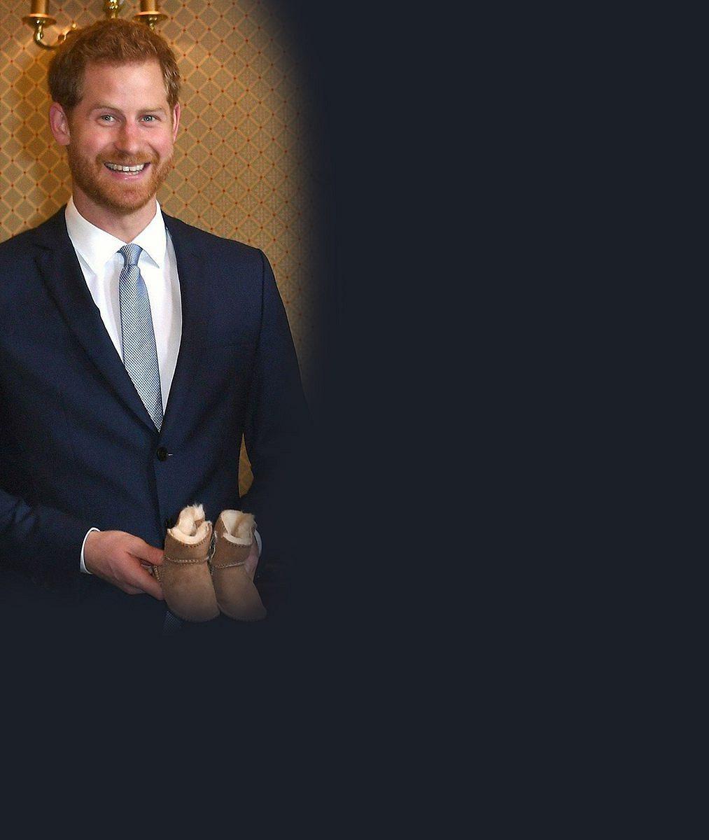 Těhotná vévodkyně Meghan dostala první dárek pro své miminko: Takhle byli s Harrym naměkko