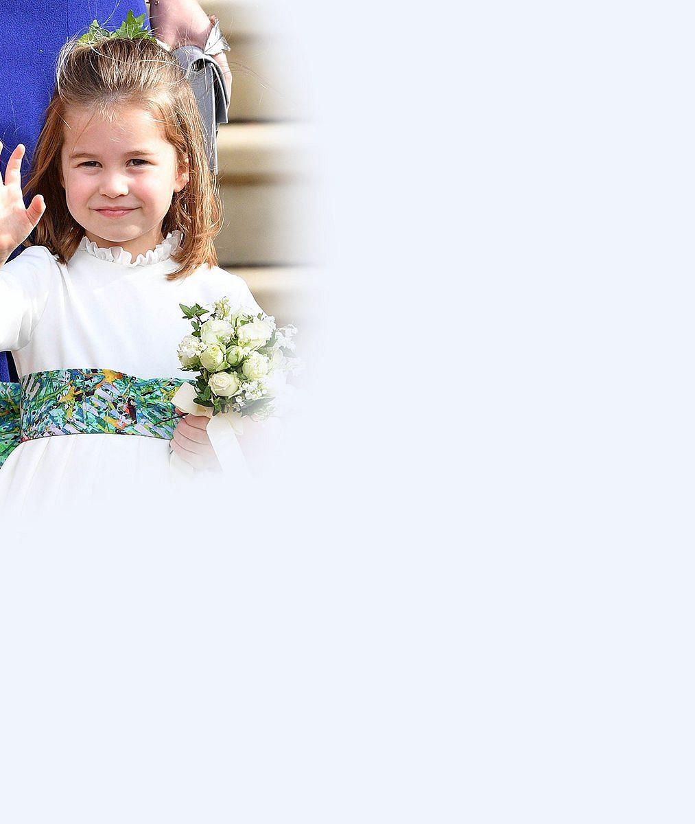 """Nejroztomilejší družička: Princezna Charlotte si na svatební momentce """"ukradla"""" veškerou pozornost"""