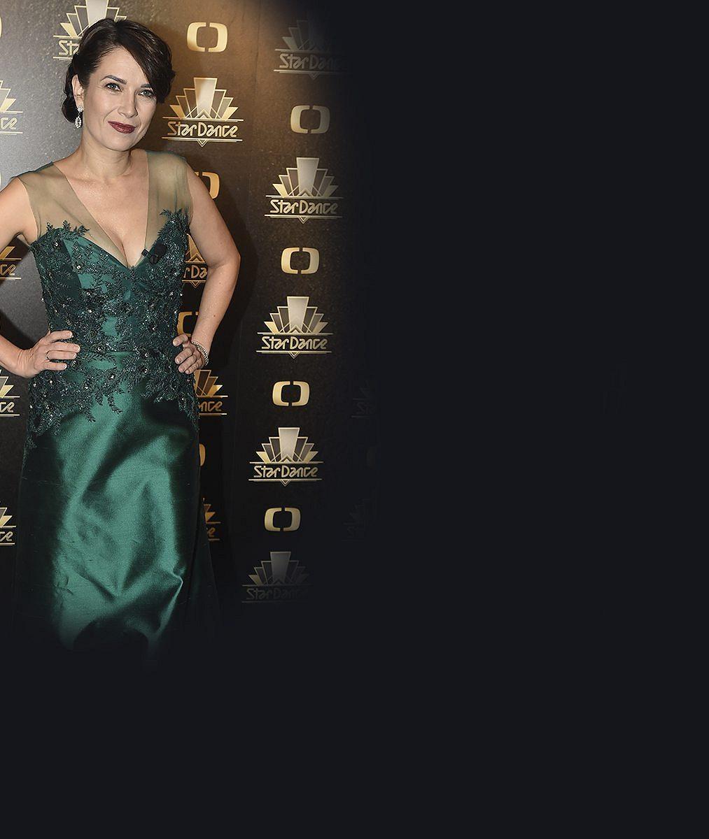 Tereza Kostková předvedla ve StarDance bujný dekolt v sexy šatech: Tuto podívanou dopřála kromě manžela i divákům