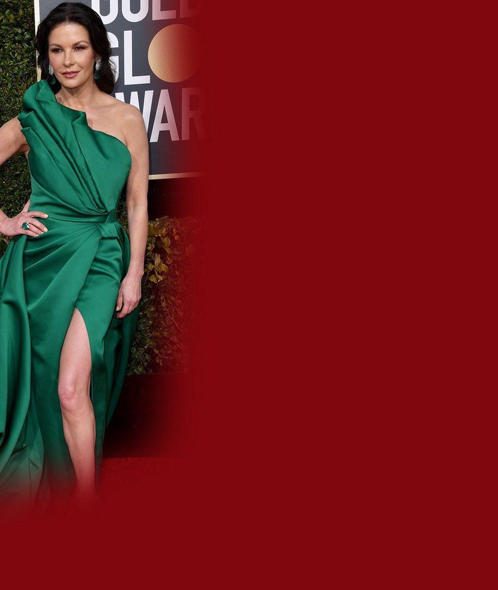 Catherine Zeta-Jones vystavila přednosti vpořádném výstřihu aprozradila tajemství šťastného manželství