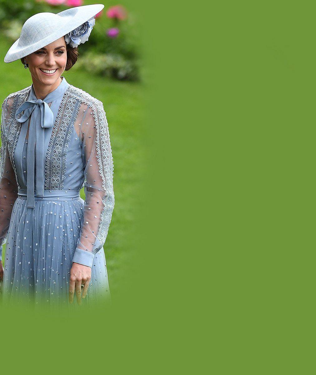 Je vévodkyně Kate opět těhotná? Poprask způsobila tato fotka z dostihů