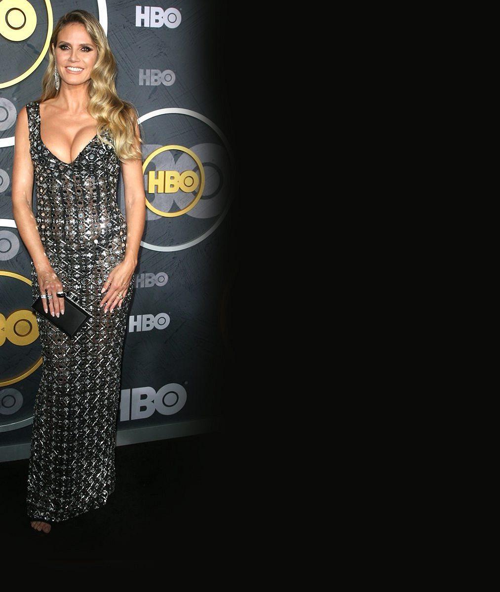 Heidi Klum to schytala za šaty: Ukázaly toho až příliš, kritizují modelku diváci