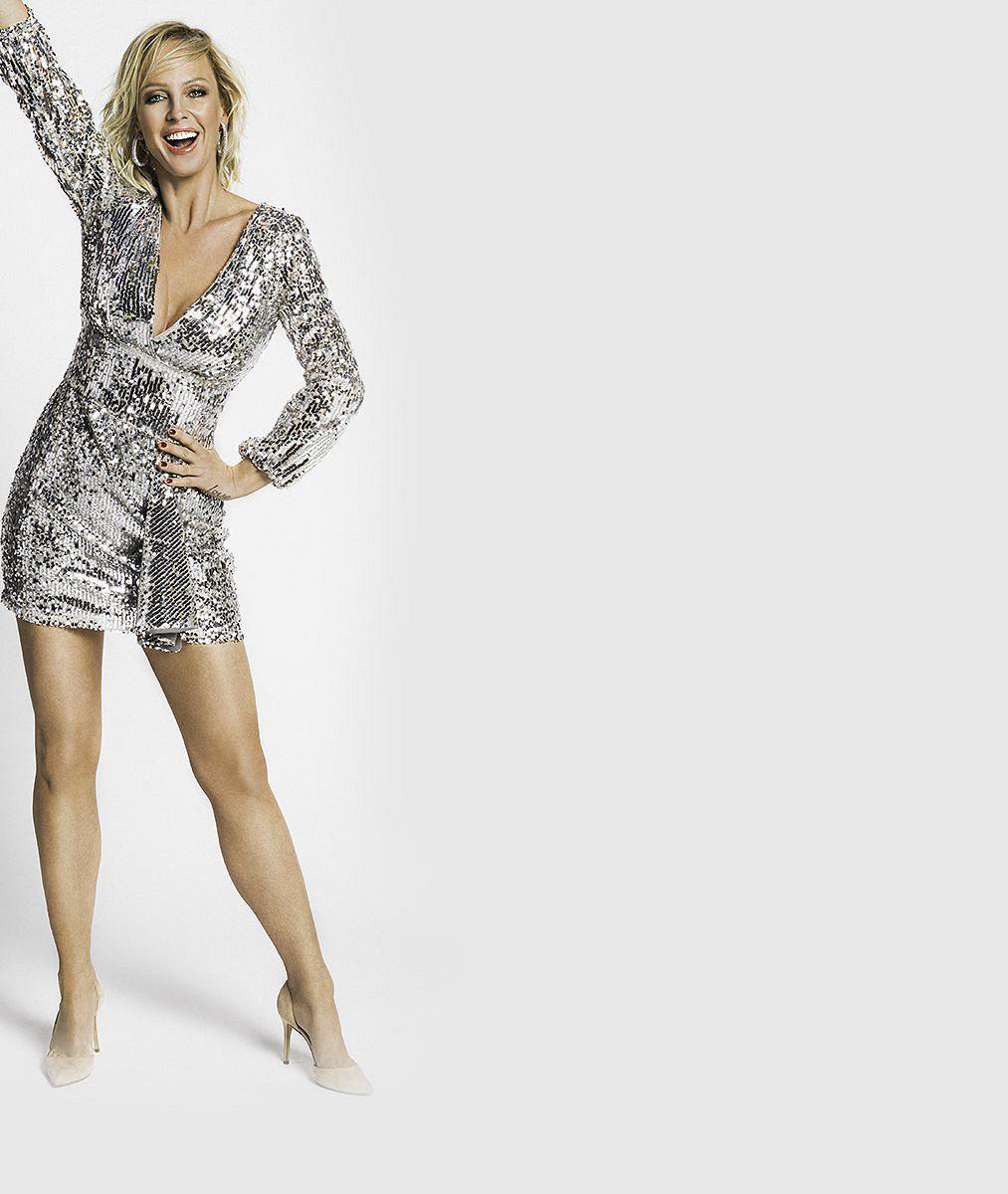 Věděli jste, že má Zuzana Belohorcová talent ina zpěv? Moderátorka se proměnila do Madonny