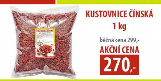 Speciální akce pro čtenáře Super.cz: GOJI - Kůstovnice čínská baleni 1 kg jen za 270 Kč.