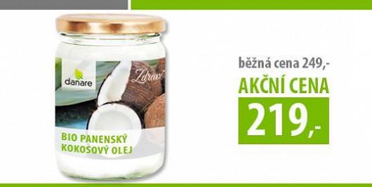 Speciální akce pro čtenáře Super.cz: Panenský kokosový olej 400 ml jen za 219 Kč