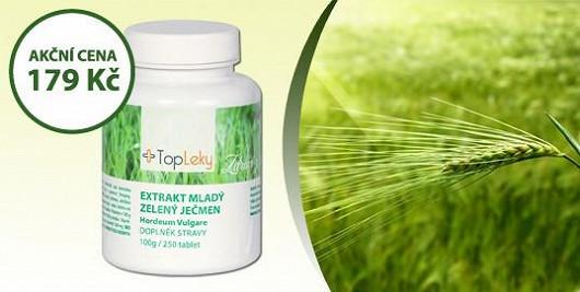 Získejte ztracenou vitalitu a novou vlnu energie se zeleným ječmenem.