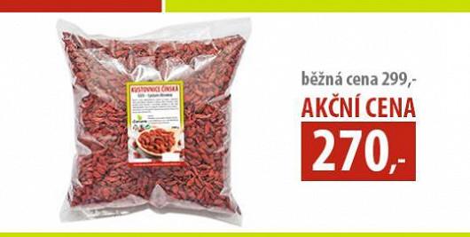 Speciální akce pro čtenáře Super.cz: GOJI - Kustovnice čínská balení 1 kg jen za 270 Kč