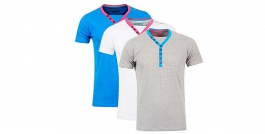 """Tip pro muže: 3 trička za cenu """"jednoho"""""""