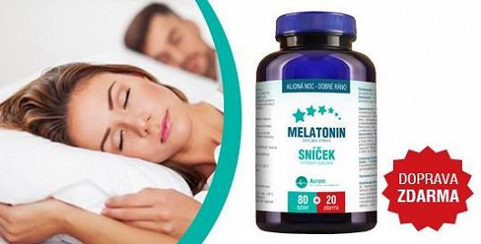 Řešení nespavosti = melatonin! Dnes doprava zdarma pro čtenáře Super.cz
