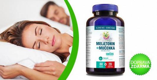Řešení nespavosti = melatonin s mučenkou!