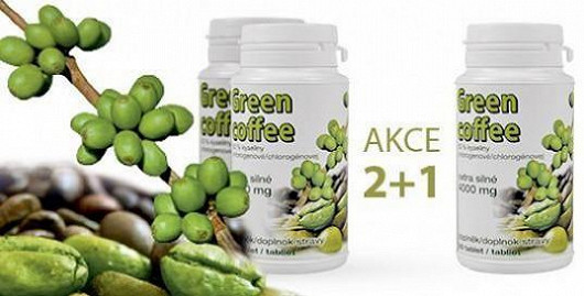 Nepropásněte jedinečnou akci a nakupte zelenou kávu od českého výrobce ještě dnes!