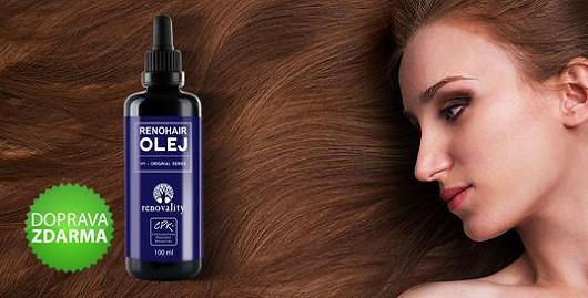 Renohair podporuje růst a omezuje vypadávání vlasů