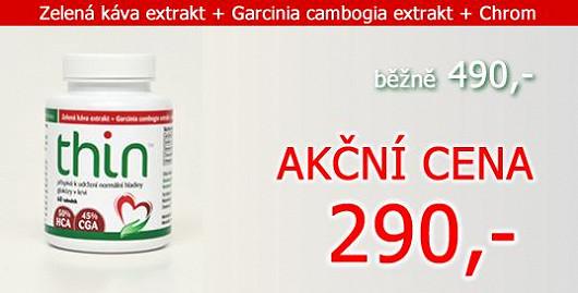 60 tobolek s extraktem Garcinia Cambogia a zelenou kávou. Hubnoucí kúra za akční cenu 290 Kč! Jen na Super.cz