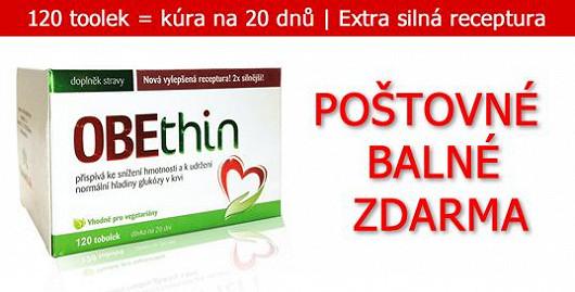 120 tobolek = 20denní hubnoucí kúra za cenu 499 Kč + poštovné a balné ZDARMA! Jen na Super.cz