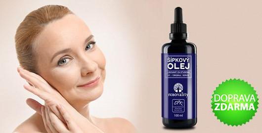 Šípkový olej je výjimečný na kožní skvrny!