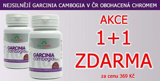 550 mg extraktu Garcinie v každé tobolce. Nejsilnější na našem trhu! Akce 1+1 ks ZDARMA. Jen na Super.cz