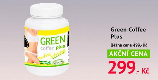 Hit v boji s nadváhou: Green Coffee Plus