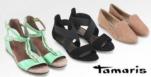 Nejnovější kolekce sandálků a balerínek Tamaris!
