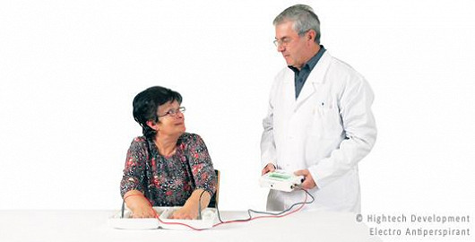 Electro Antiperspirant v nemocnicích