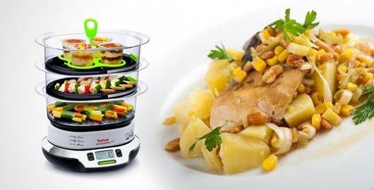 Nejzdravější příprava pokrmů v páře