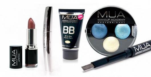 Kosmetika MUA již od 34 Kč
