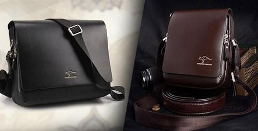 Kvalitní kožená pánská taška s 58% slevou