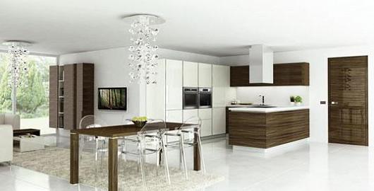Interior concept umožňující dokonalé sladění nábytku s interiérovými dveřmi