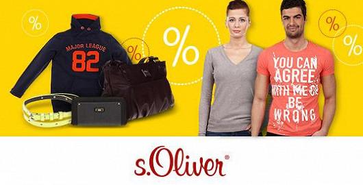 Velké slevy na oblečení s.Oliver