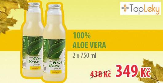 Aloe Vera jen na Super.cz: 2x750ml za 349 Kč!