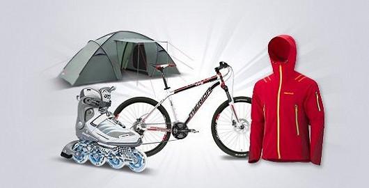 Výprodej sportu, outdoorového a cyklo vybavení!
