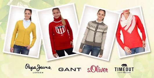 Dámské svetry se slevou až 50 %