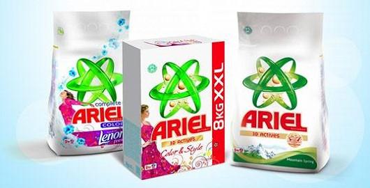 Bílé nebo barevné? Ariel má prací prášky pro každého!