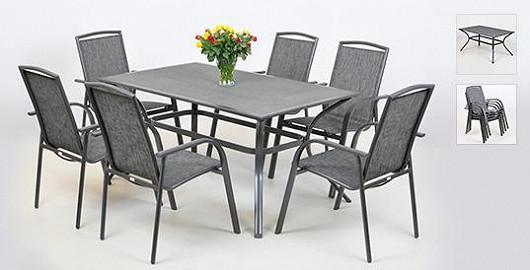 Blýskněte se atraktivním kovovým nábytkem. Hit venkovních restaurací teď můžete mít se super slevou!