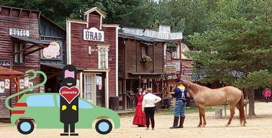 Ubytování ve westernovém stylu
