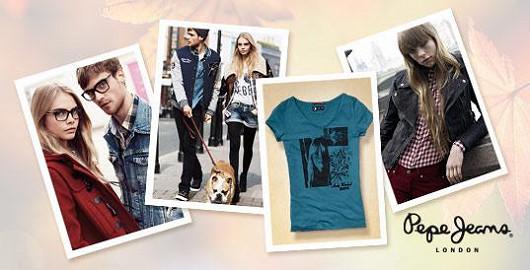 Podzimní kolekce Pepe Jeans