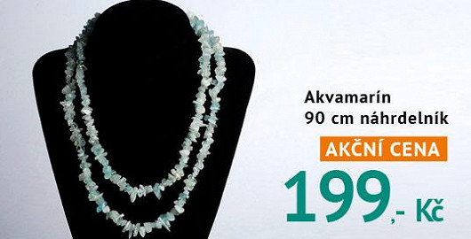 Akvamarín je kamenem dodávajícím odvahu beranům a štírům