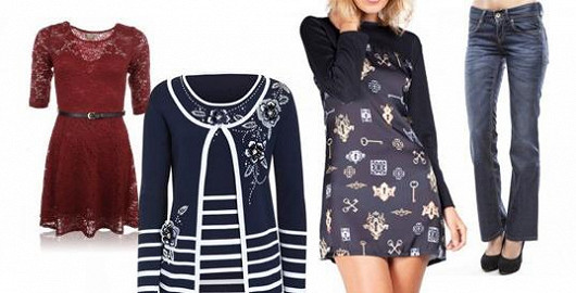 Široký výběr dámské módy