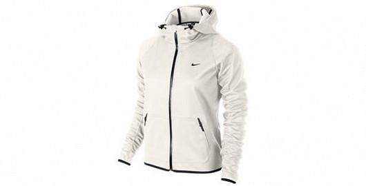 Dámská fitness bunda Nike hypertech hoody s kapucí