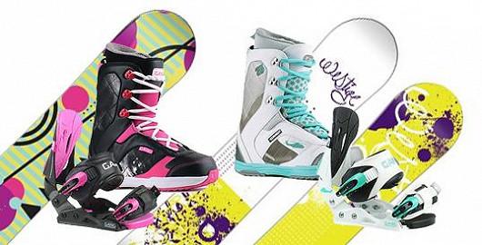 Dámské snowboardové sety, které vynikají svým luxusem s 57% slevou!