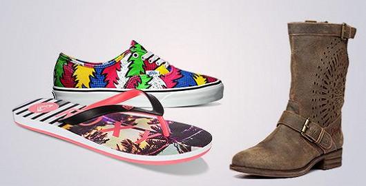 Obrovský výběr obuvi