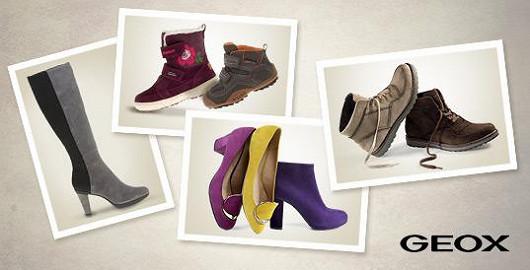 Geox obuv pro celou rodinu