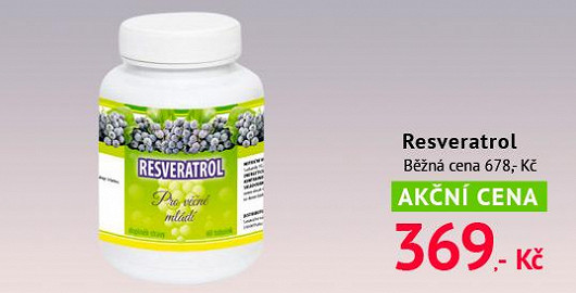 Elixír mládí se jmenuje Resveratrol