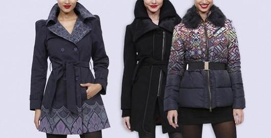 Kabáty Desigual se stylovou taškou jako dárkem navíc