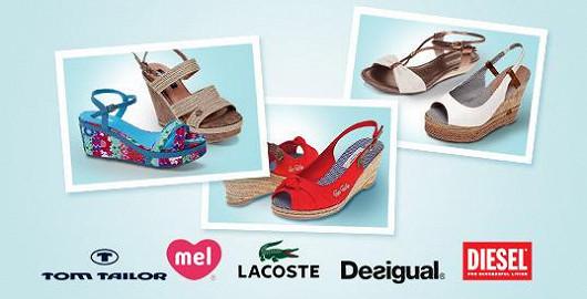 Výprodej dámské letní značkové obuvi