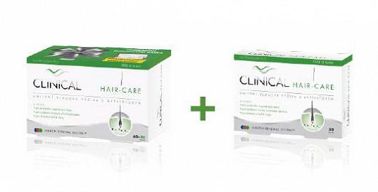 Čtenářům Super.cz nabízíme mimořádnou akci! Při zakoupení 1 ks výrobku Hair Care 60 + 30 tobolek cena 350,- vč. DPH a k tomu zdarma Hair Care 30 tobolek a poštovné a balné jako pozornost!