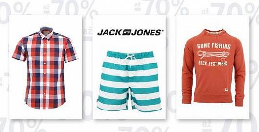 Vybavte si celý šatník: Jack and Jones až -70 %