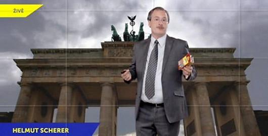 Helmutovi Schererovi z Německa se nelíbí jejich nestejnoměrná délka.