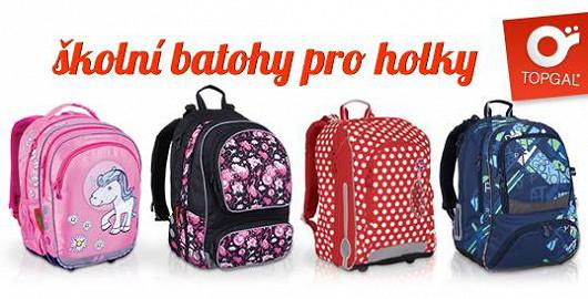 Školní batohy pro školačky