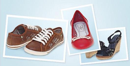 Okouzlující obuv Tom Tailor